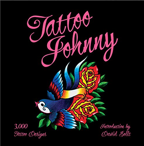 Tattoo Johnny: 3,000 Tattoo Designs (Black And White Tattoos With Pops Of Color)