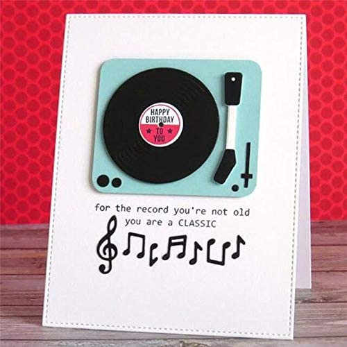 Greatest Hits Music Dies And Stamps Musical Cover Plate Metal Cutting Dies DIY