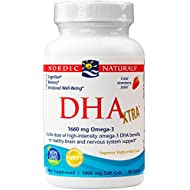 Nordic Naturals - DHA Xtra, Healthy Brain and Nervous System Support, 60 Soft Gels (FFP)