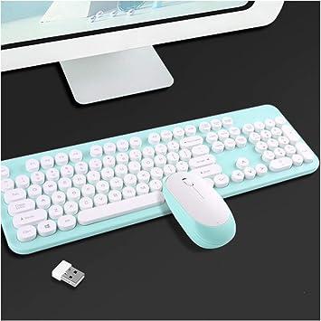 YYZLG - Juego de teclado y ratón inalámbricos, diseño de ...