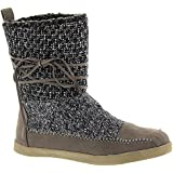 Madden Girl Jackmen Women's Boot 7.5 B(M) US Grey-Multi-Microfiber