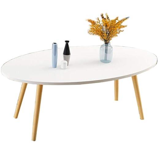 Mesa auxiliar Mesa auxiliar lado creativo oval mesa de centro de ...