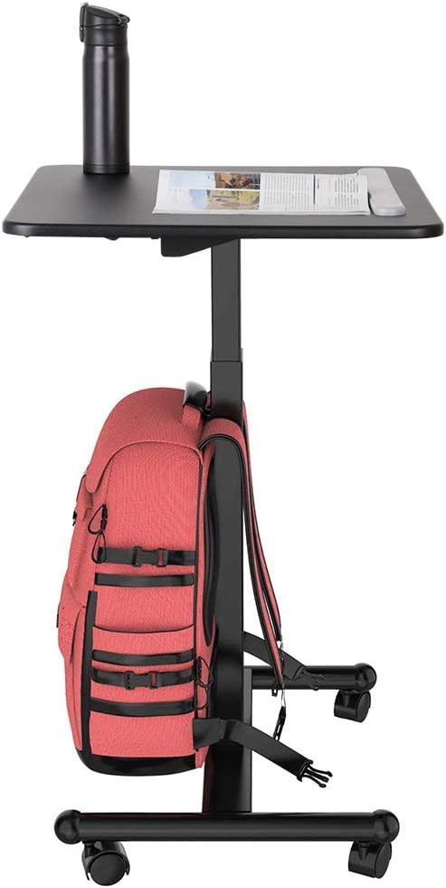 Flexispot MT3 Sit-Stand Mobile Laptop Desk Computer Cart Height Adjustable from 29.3 Inches to 45 Inche