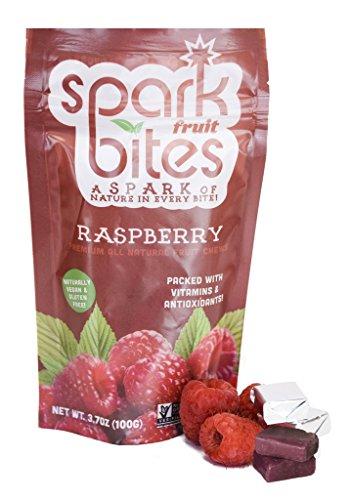 Price comparison product image Spark Fruit Bites Raspberry Premium All Natural Fruit Chews 3.5oz pouch