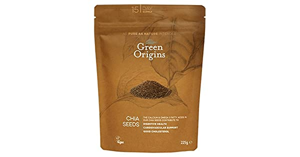 Amazon.com: Green Origins Chia semillas 225 g: Health ...