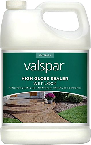 Valspar 24-82390 Gl 1 Gal Clear Wet Look High Gloss Sealer