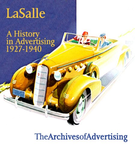 Amazon com: LaSalle: A History in Advertising ad CD 150 ads
