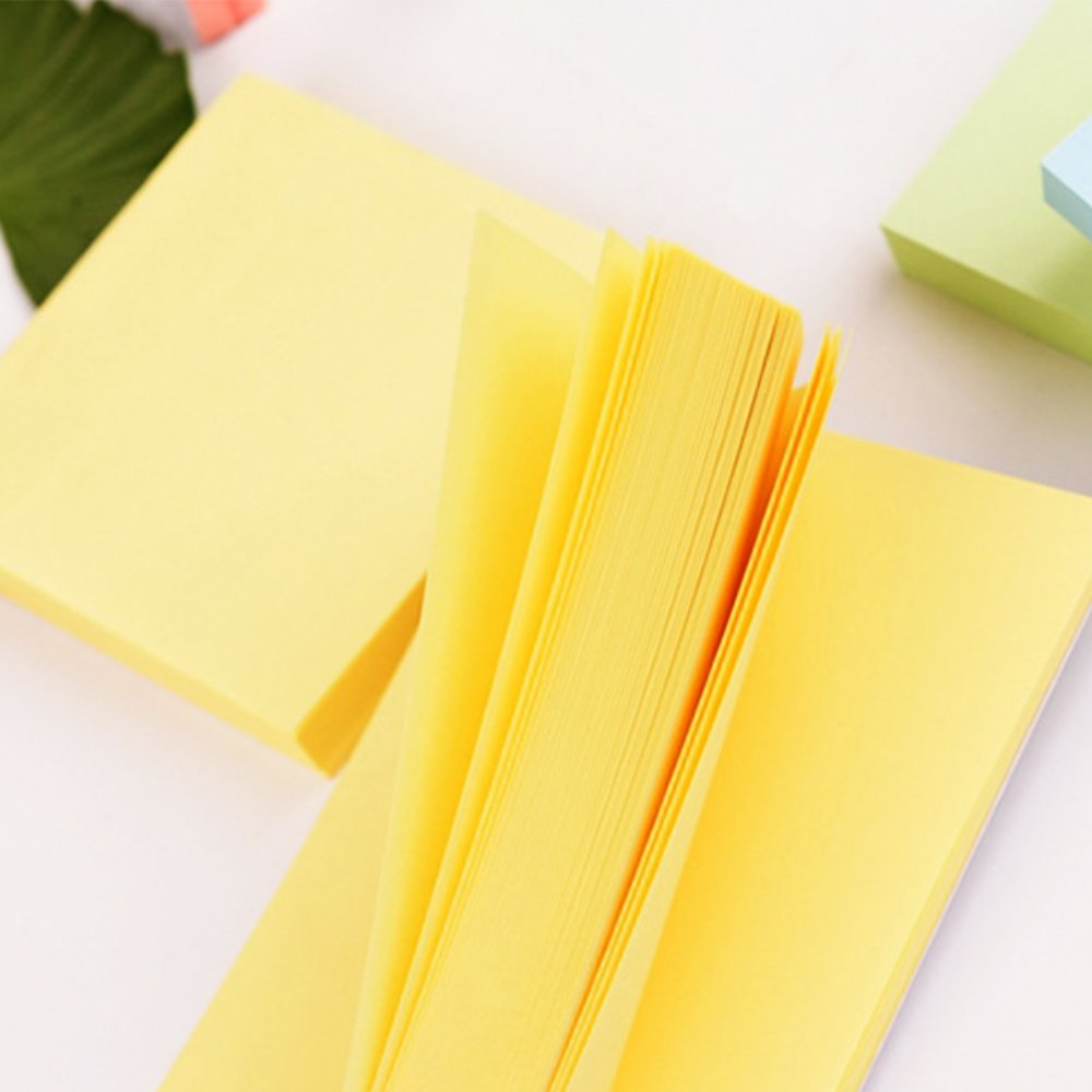 Sticky Notes 3x3 inches,100 Sheets/Pad, 12 Pads Self-Stick Notes with 6 Colours Self-Stick Notes, Easy to Post for Home, Office by BIvil (Image #5)