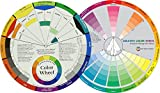 Mixing Color Wheels for the Artist (9-1/4') With a Creative Color Wheel (9.25 inch) circle with different colored sectors used to show the...