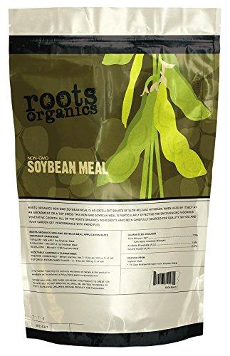 Roots Organics 715114 NonGMO Organic Soybean Meal Fertili...