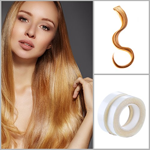 Boao 4 Rolls Hair Extension Tape Double Sided Adhesive Human Hair Tape for Hair Extensions and Hair Weft by Boao (Image #1)
