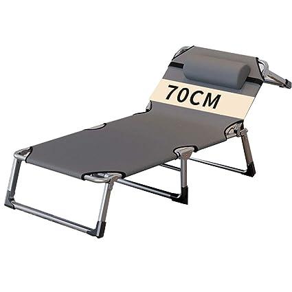 Amazon.com: Cama reclinable para playa, tumbona de sol ...
