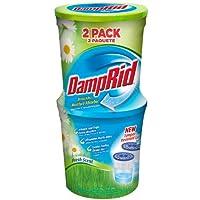Amortiguador de humedad DampRid FG60FS, aroma fresco, 10.5 onzas, paquete de 2