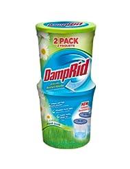 DampRid FG60FS Moisture Absorber, Fresh Scent, 10.5-Ounce, 2-...