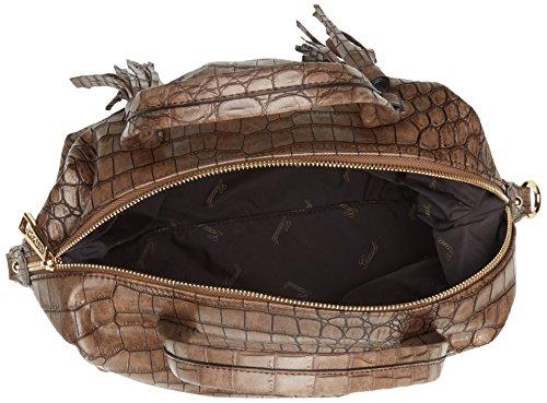 28x18x18 À Alicia Linea brown Sac Handle Gaudì Bag Main Cm Top Marron OpUtqxY