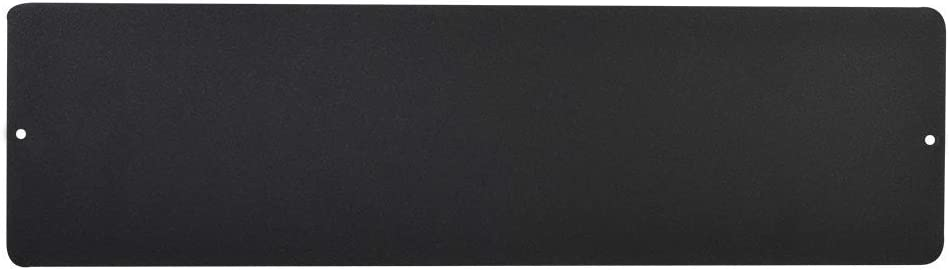 KalaMitica 25114-102-001 Pizarra magnética, Acero, Antracita, 14x50 cm