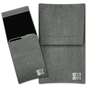 SIMON PIKE Cáscara Funda de móvil Sidney 1 gris elefante Huawei Ascend G510 Fieltro de lana