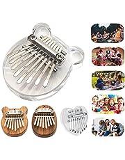 $31 » Hugogo 8 Keys Mini Kalimba Thumb Piano Portable Pendant Finger Musical Instrument Christmas Gift for Kids Adult Beginner