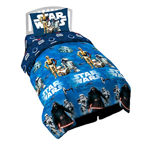 Star Wars Ep7 Force Awakens 64'' x 86'' Twin Comforter by Star Wars