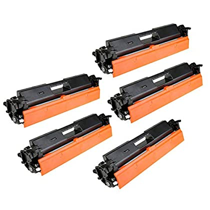 Image of Amsahr CF230A HP th-CF230A M203dn M203dw Compatible Replacement Toner Cartridges with Five Black Cartridges Toner Camera