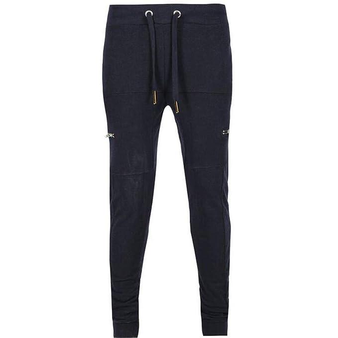 LANSKIRT_Pantalones Pantalones Hombre Pitillo Chándal Pants de ...