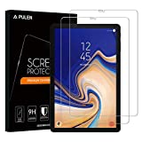 [2-Pack] Samsung Galaxy Tab S4 Screen Protector, PULEN 0.3MM Slim And 9H Hardness Tempered Glass Film [Ultra Clear] [Anti-Scratch] [Bubble Free] [Anti-fingerprint] for Galaxy Tab S4 Tablet (10.5 Inch)