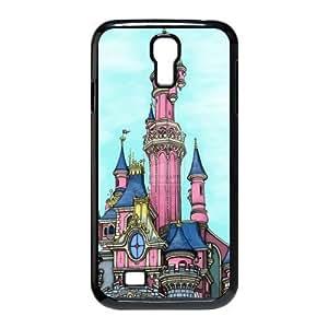 Custom Fairytale Castle Design Samsung Galaxy S4 Plastic Case Cover