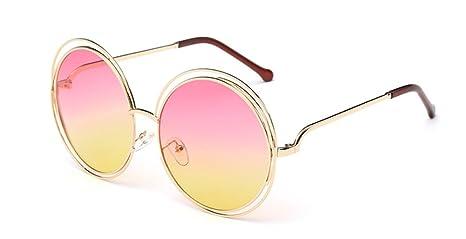 Skyeye Lentes de Sol de Fox Salvaje Las Mismas Gafas de Sol de la película del Color del Párrafo Alrededor de Marco Señoras Gafas de Sol Gafas de ...