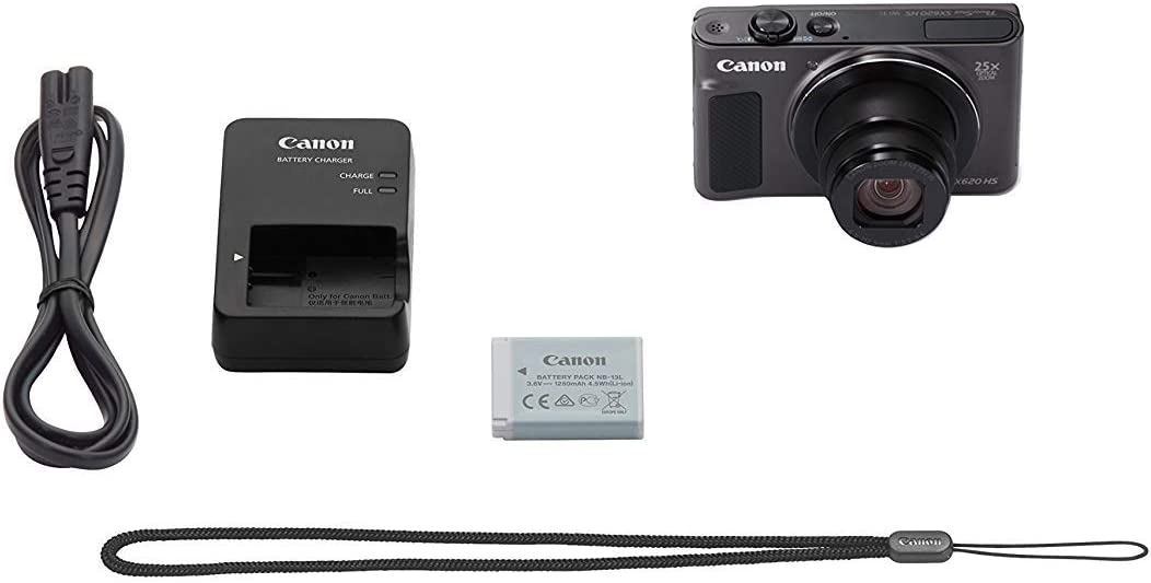 Canon Powershot Sx620 Hs Digital Camera Black Camera Photo