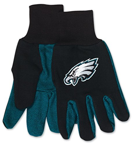 WinCraft Philadelphia Eagles Two Tone Youth Size Gloves ()