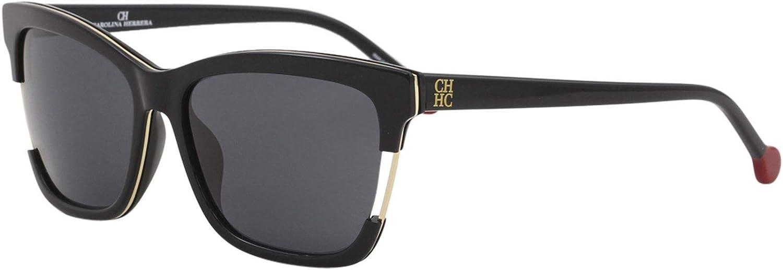 Carolina Herrera Gafas de Sol SHE752560700 (Diametro 56 mm), 0700 (0700), 56 Unisex-Adult: Amazon.es: Ropa y accesorios
