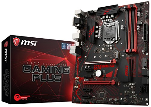 MSI Z370 GAMING PLUS CFX ATX Motherboard (Board Pentium Processor)
