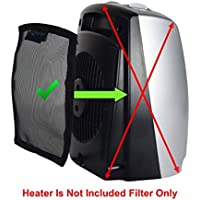 Lasko 754200 Electric Ceramic Space Heater filter, Perfect fit for Lasko 754200 Electric Ceramic Portable Space Heater, Filters 98% Airborne Pollens, Dust & Molds, Washable, Reusable, Made USA