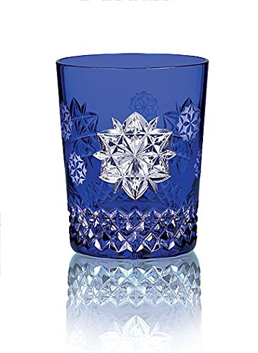 Waterford Snowflake Wishes Friendship Prestige Edition Double Old Fashioned Cobalt by Waterford