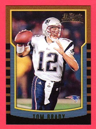 Tom Brady 2000 Bowman Football Rookie Reprint Card (New England Patroits) (Michigan)
