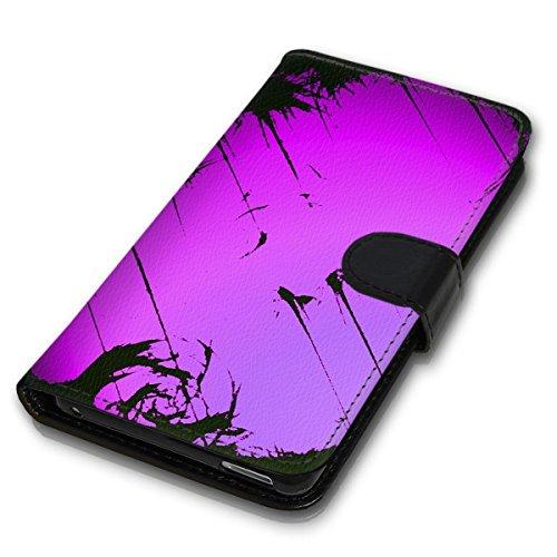 Wallet Book Style Flip Handy Tasche Case Schutz Hülle Schale Motiv Etui für Apple iPhone 6 / 6S - Design Flip MV145