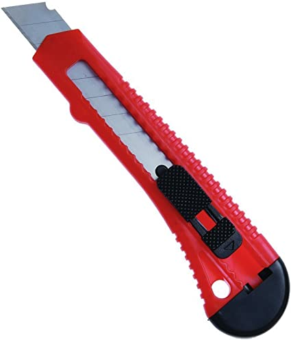 Maped Cuttermesser Teppichmesser Ultimate für Rechtshänder Klinge 18 mm