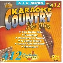Karaoke Music CDG: Chartbuster 6X6 CDG CB20412 - Country Hot Hits Female March 2003