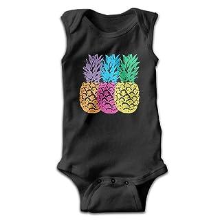 Lipose Bodysuit Infant Triple Pineapple Romper