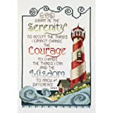 Janlynn Cross Stitch Kit, Serenity Lighthouse