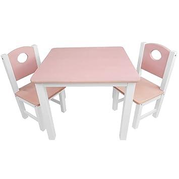 84beb45725c34e Kinder-Sitzgruppe - Kinderzimmer Set  1 Tisch und 2 Stühle - top Möbel-