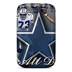 Top Quality Case Cover For Galaxy S3 Case With Nice Dallas Cowboys Appearance