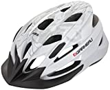 Louis Garneau - HG Tiffany Cycling Helmet, White/Gray