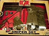 : Gi Joe Deluxe Mission Gear Sniper Set Includes Sniper Rifle 12 Inch 1:6