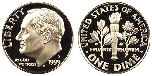 1999 S Proof Roosevelt Dime PF1