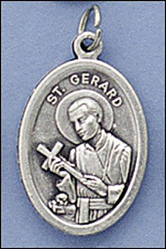 Oxidized Saint Medals (Qty 5 Men or Womens Catholic & Religious. 1