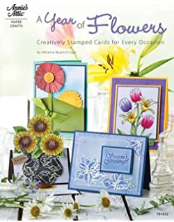Fabulous stamped frames creative greeting card designs a year of flowers creative stamped cards for every occasion m4hsunfo