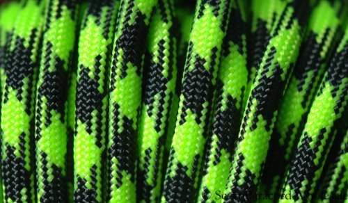 ZOMBIE! OUTBREAK 550 Paracord - Parachute Cord - 7 Strand Military Spec Type III -USA MADE - 100 ft ()