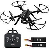 """GoPro Compatible HD Camera Drone - """"Force1 F100"""" Brushless Motor Drone for Beginners and Pros Extends Drones Flight Time (Camera Not Included)"""