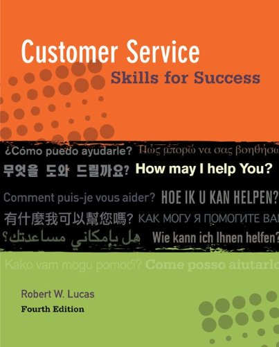 Customer Service Skills for Success by McGraw Hill